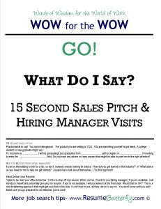 wow for the wow job search skills resume butterfly go 15