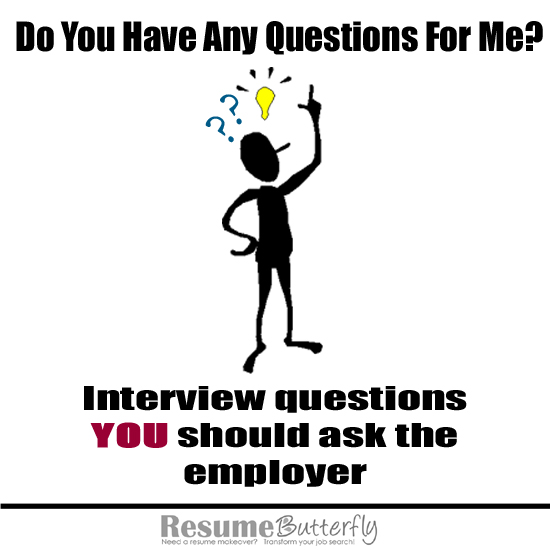 interview questions to ask employer