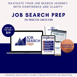 Job Search Prep by Resume Butterfly - The Proactive Career Plan